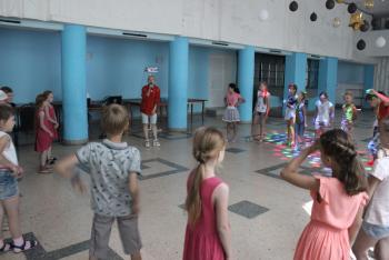 Дискотечно-игровая программа для школьных лагерей район